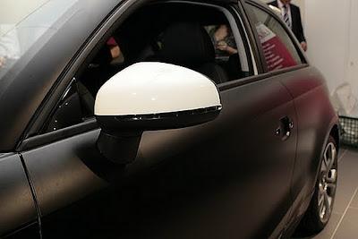 2011 S-Line Audi A1: In black matte 1.4 L TFSI