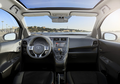 Toyota unveils new images of Verso-S MPV  2011