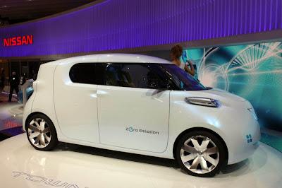 Concept Electric Car Townpod Live Paris 2010