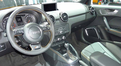 A1 Audi 1.4 T S-Line, the color of gold interior