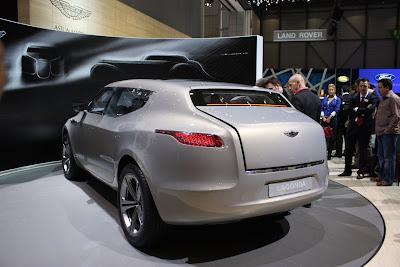 2011 New Aston Martin Lagonda SUV