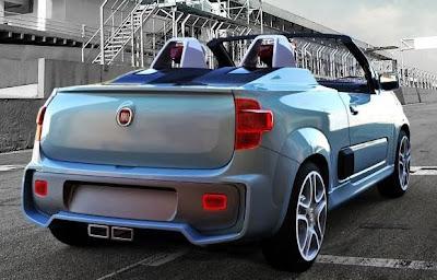 Novo Fiat Uno Uno Cabrio e Roadster Concept Convertible Sporting