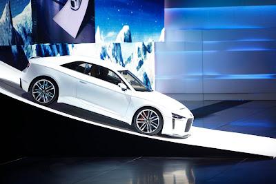2011 Audi quattro concept live