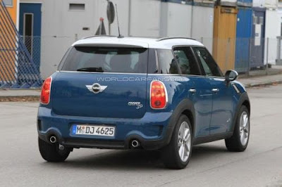 2012 MINI Countryman Cooper S Diesel 1 Car reviews:Spied : MINI Countryman Cooper S Diesel 2011 has the same label SD