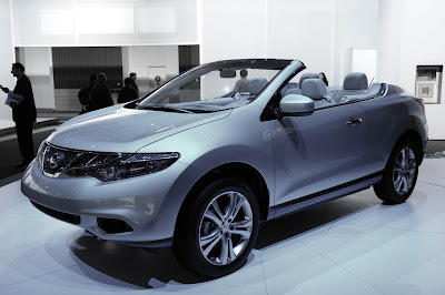 Nissan Murano CrossCabriolet First Live Pictures and price Los Angeles 2010