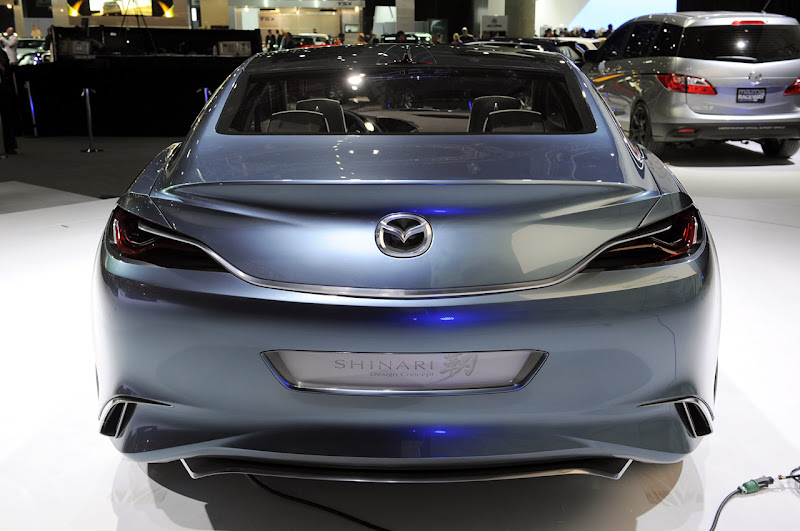Mazda Shinari Concept Live