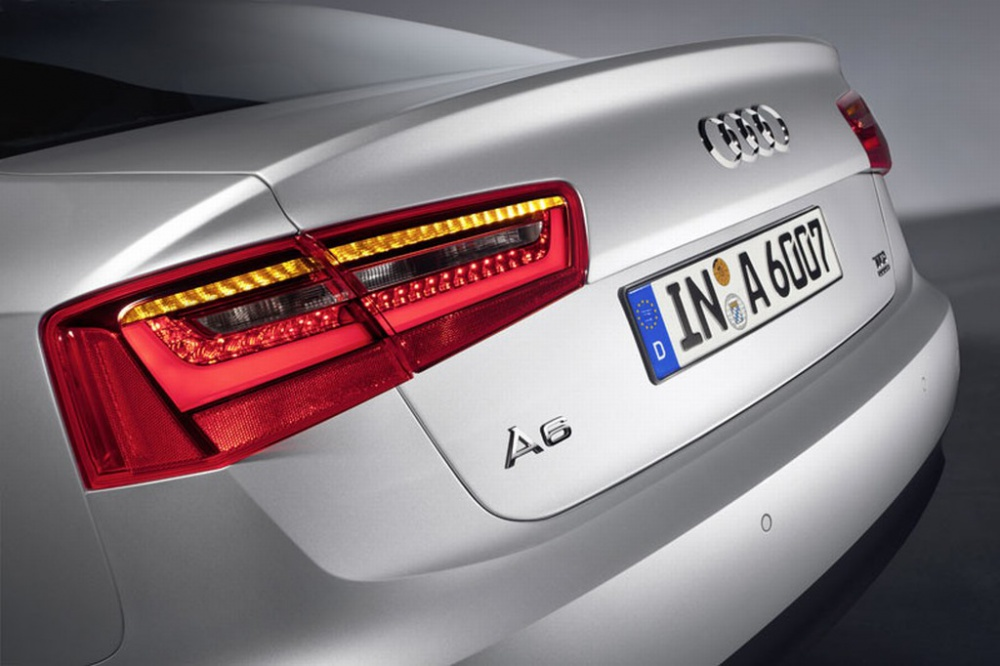 Photos of 2011 Audi A6 new generation appeared in the earlier period