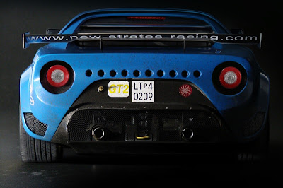 New Lancia Stratos Racing : Approval GT2, 25 copies and miniature