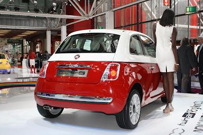 Fiat 500 2011 Bicolore Live