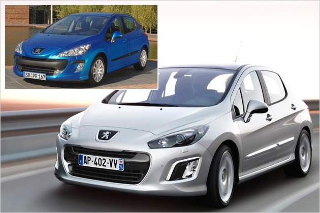 looks like a car 2012 peugeot 308 facelift new look and. Black Bedroom Furniture Sets. Home Design Ideas
