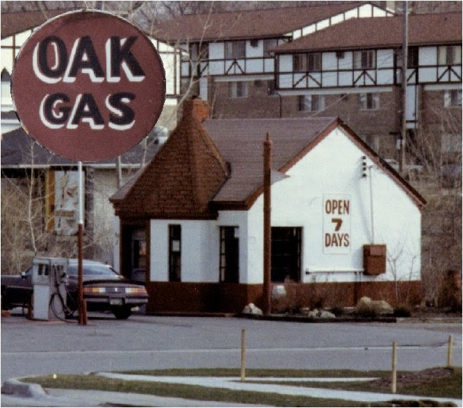 Remembering Rochester Vanished Rochester Oak Gas Station