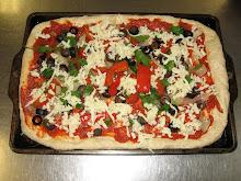 Ellen's hallal pizza