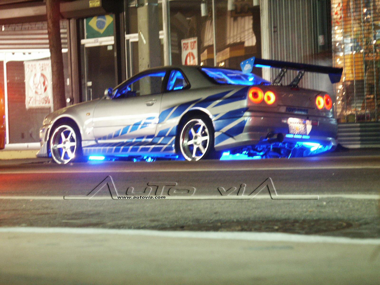 The Skyline Nissan