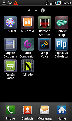 Forex trading on android phone