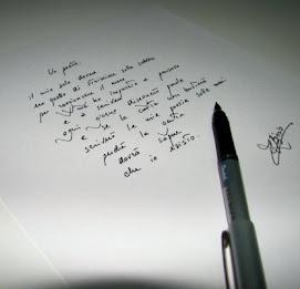 La poesia dello scrivere