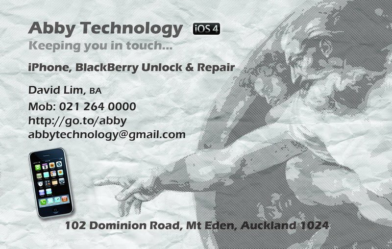 Abby technology ltd iphone 4 repair unlock renaissance theme renaissance theme name card for abby technology business card for apple iphone mobile phone repair and unlocking reheart