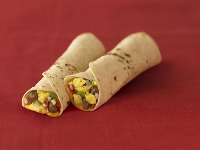 mcdonalds breakfast burrito
