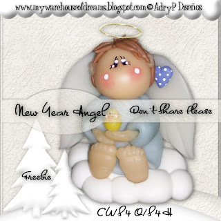 http://mywarehouseofdreams.blogspot.com/2009/12/sweet-little-angel-4-u.html