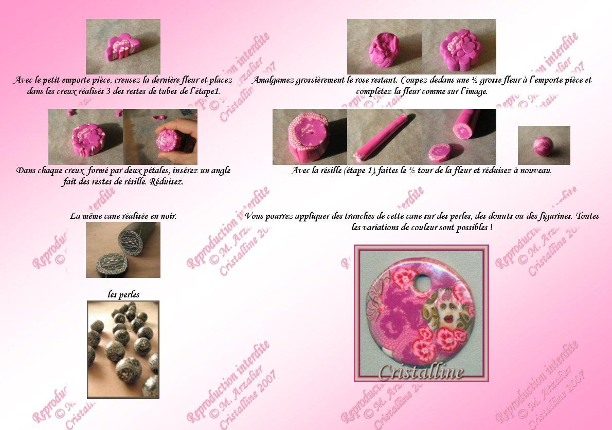 Fabuleux Tutoriel : Comment faire des motifs imitation dentelle en Fimo  BE33