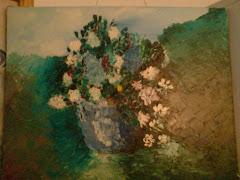 Tabloul albastru (ulei pe panza, 2006)