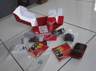 Unboxing Nexian G522