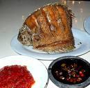 Ikan Gurame Goreng Sambel