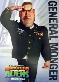 Monger - Monsters vs Aliens