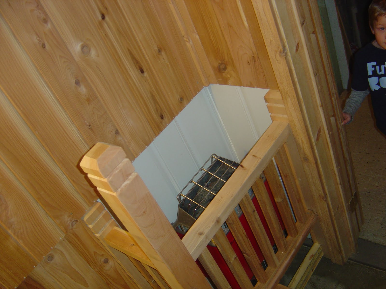 how to build a sauna in your basement. Black Bedroom Furniture Sets. Home Design Ideas