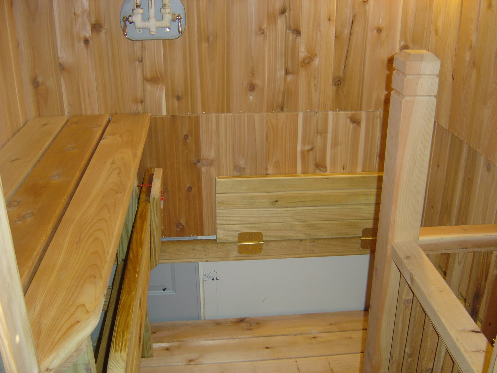 how to build a sauna in your basement