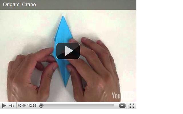 Origami Instructions Crane Video