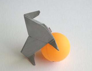 origami sea lion