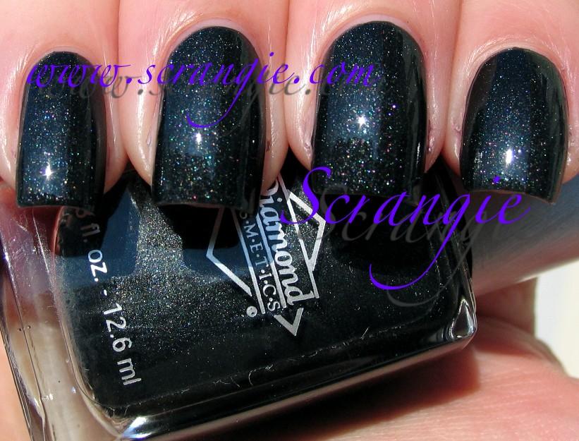 Scrangie: Diamond Cosmetics Black Matte Shimmer