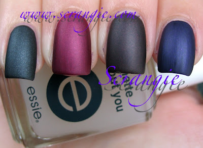 Index To Pinkie Essie Sexy Divide Decadent Diva National Velvet Over The Top No Topcoat Just Wet Polish
