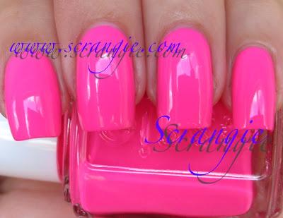 Pinker nagellack