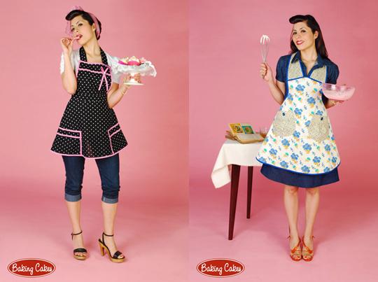 Dise adores independientes baking cakes delantales como los de antes - Modelos de delantales de cocina ...