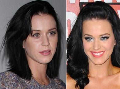 Katy Perry sem maquiagem