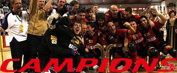 Reus Deportivo campeon de la copa de Europa de hokey