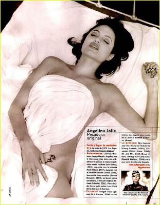 Tatuaggi di Angelina