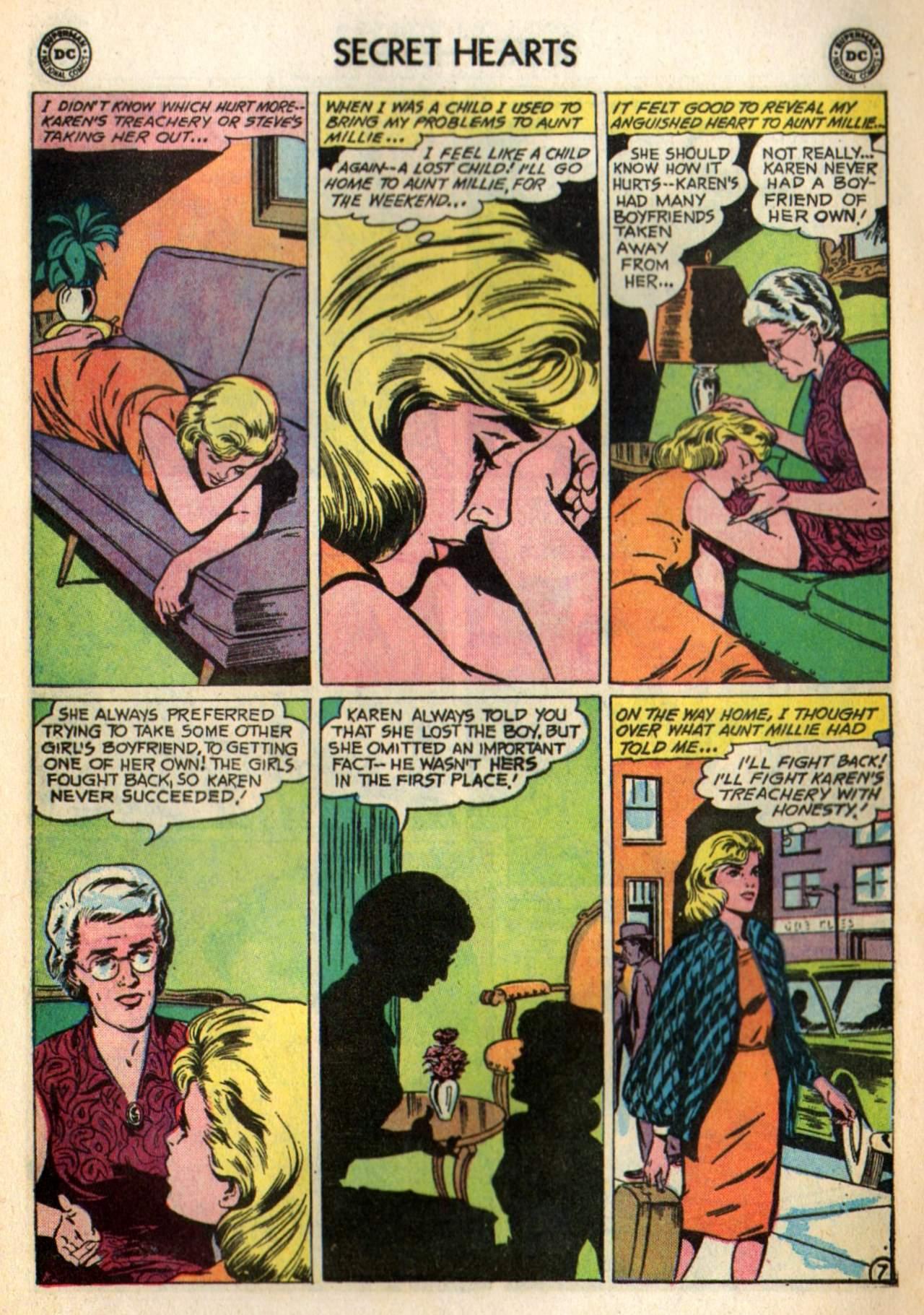 Read online Secret Hearts comic -  Issue #98 - 9