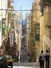 A street in Valletta