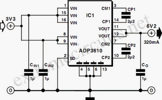 Switching Voltage Regulator on current doubler circuit diagram
