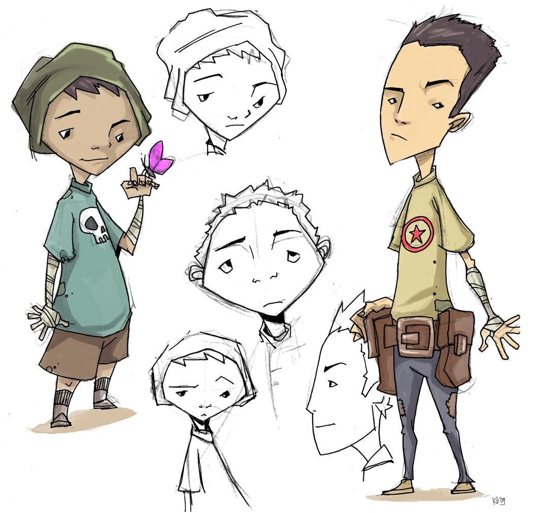 Character Design Kit : Kit wallis character design