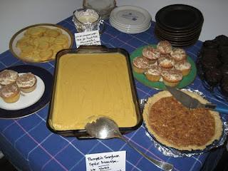 A multi-dessert night