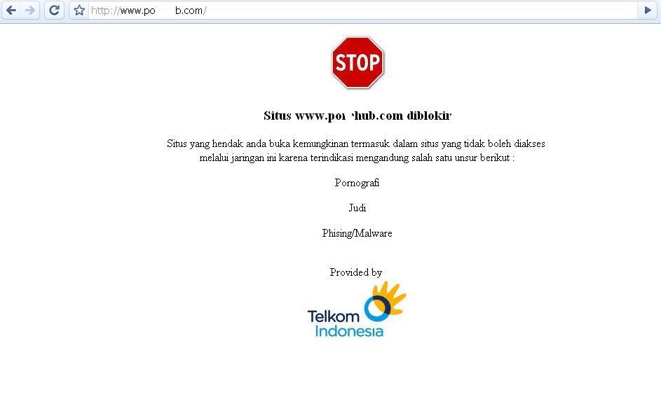 Tips Telkom Membuka Situs Yang Diblokir
