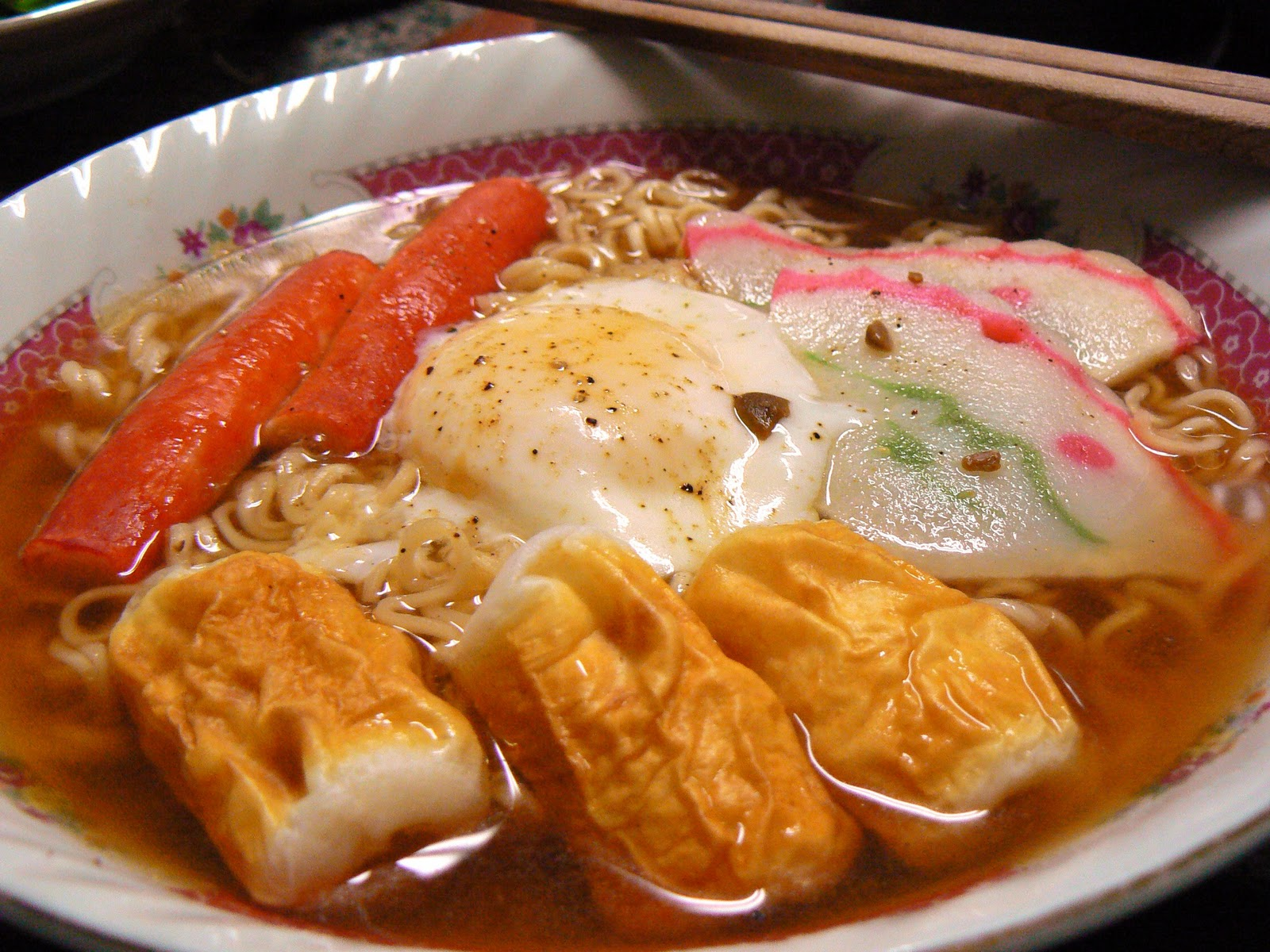 ... : Where Food Goes Beyond the Boundary of Hunger: Instant Miso Ramen