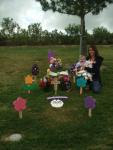 Laiken's Gravesite.....Cousin Sammie (Best Friends Forever) And Baby Sister Abigail.