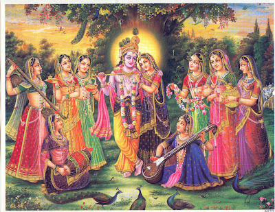 Indian Gods and Goddesses: Radha Krishna Wallpapers