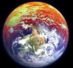 Clique no planeta para acompanhar o monitoramento da emissão de CO2 em tempo real.