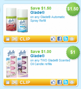 photograph about Glade Printable Coupons called The Concentrate Saver: Refreshing Glade Printable Discount coupons
