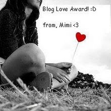 Blog Award: Blog Love Award